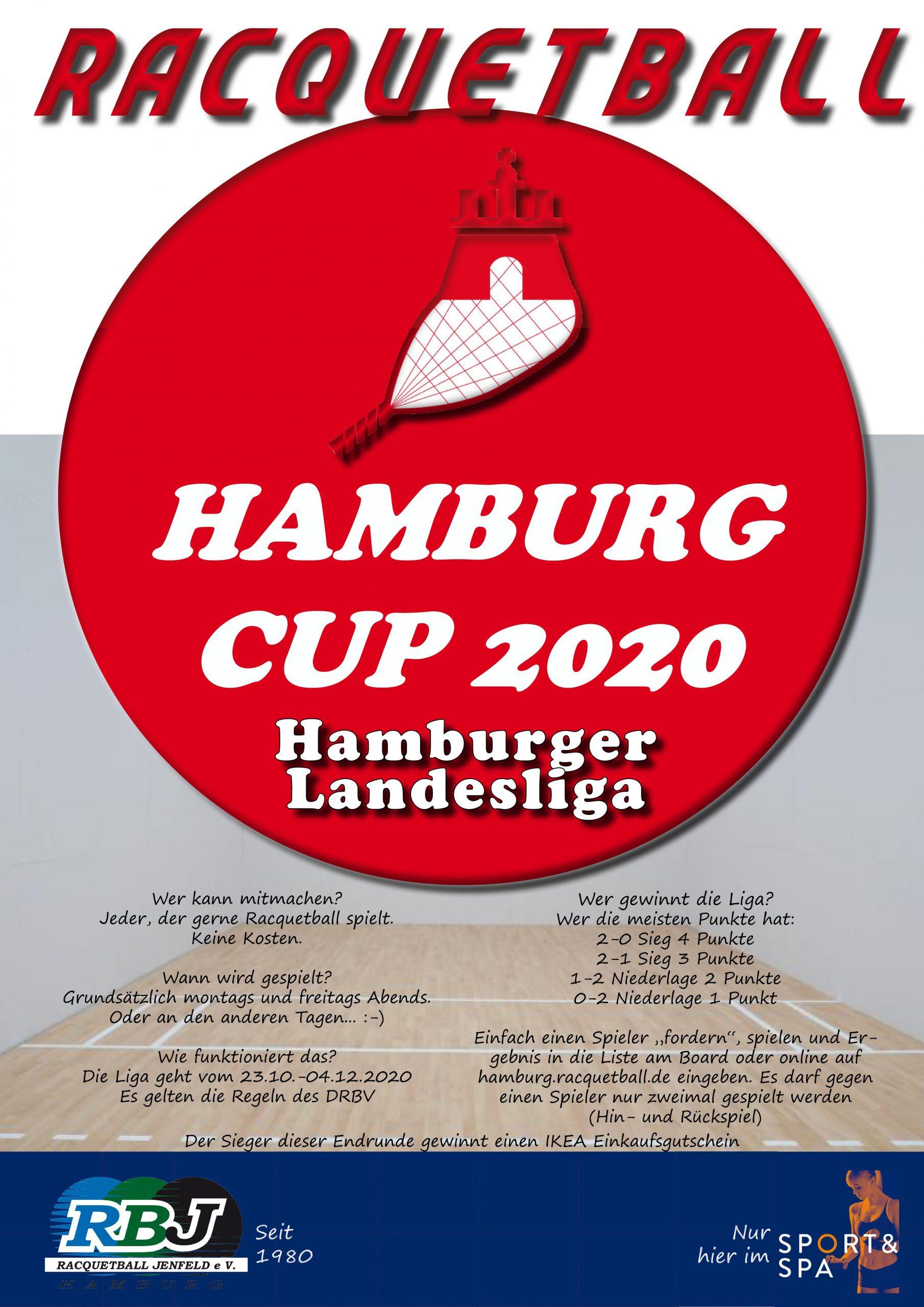 Hamburger Landesliga startet am 23.10.2020